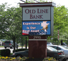 Old Line Bank EMC Sign