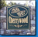 Cherrywood Community Sign