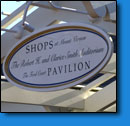 Shops Pavilion Washington DC Sign