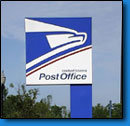 US Post Office Commercial Signs
