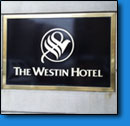 Westin Hotel Sign