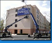 Fairfield Inn installation